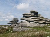 image of minion  - the Cheesewring stones on Bodmin moor near the minnions - JPG