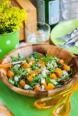 image of butternut  - Delicious butternut squash arugula couscous and feta salad - JPG