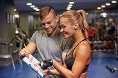 picture of clipboard  - fitness - JPG