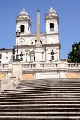 Spanish Steps In Rome Italy