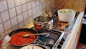 Cooking Pasta poster