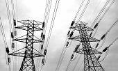 image of power lines  - power lines - JPG
