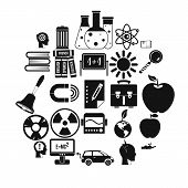 Discoveries Icons Set. Simple Set Of 25 Discoveries Vector Icons For Web Isolated On White Backgroun poster