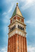 St Marks Campanile, The Most Recognizable Symbols Of Venice, Italy poster