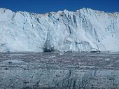 stock photo of growler  - Situated  on Greenland west coast about 80km north of Ilulissat - JPG