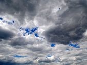 Sky In The Clouds. Cloudy In Heaven. Cloudy poster