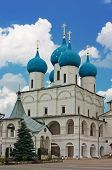 Постер, плакат: Высоцкий монастырь Серпухов Россия