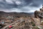 image of ulaanbaatar  - Ulaanbaatar capital of Mongolia view from Zaisan Tolgoi - JPG