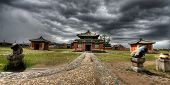 foto of ulaanbaatar  - Erdene Zuu Monastery in Karakorum ancient capital of Mongolia - JPG