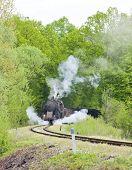 pic of former yugoslavia  - steam freight train in Tuzla region - JPG