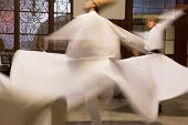 Whirling Dervishes at Sirkeci Train Station