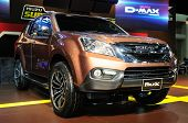 Bkk - Nov 28: New Isuzu Mu-x On Display At Thailand International Motor Expo 2013 On Nov 28, 2013 In
