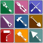 Icons Of Working Tools