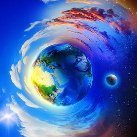 stock photo of planetarium  - Image of planet Earth planet - JPG