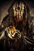 picture of shaman  - Ancient shaman warrior - JPG