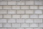 picture of arriere-plan  - the Square white brick wall as background - JPG