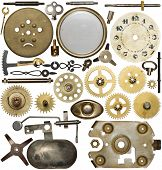 image of time machine  - Clockwork spare parts - JPG