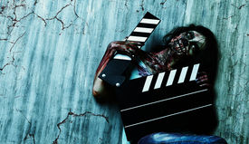 image of doomsday  - Filming a horror movie - JPG