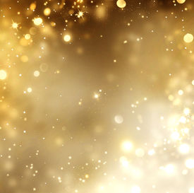 foto of glow  - Christmas Gold Background - JPG