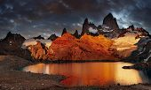picture of faerys  - Laguna de Los Tres and mount Fitz Roy - JPG