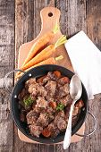 stock photo of stew  - meat stew - JPG