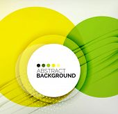 picture of composition  - Color circles composition - JPG
