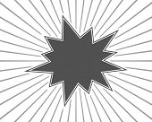 picture of starburst  - starburst splash black background template - JPG
