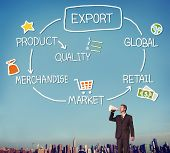 pic of export  - Export Product Merchandise Retail Quality Concept - JPG