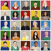 picture of diversity  - Community Diversity Group Headshot People Concept - JPG