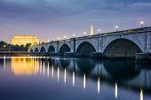image of washington skyline  - Washington DC - JPG