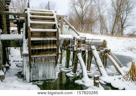 Waterwheel of old