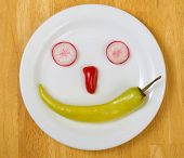 Fresh Food Smiley