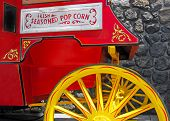 picture of stagecoach  - Old Fashioned Popcorn Cart - JPG