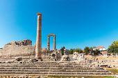 Apollonian Temple Is One Of The Most Well Preserved Temple In Turkey, Located In Didim At Aydn Provi poster