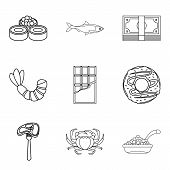 Tenderly Icons Set. Outline Set Of 9 Tenderly Icons For Web Isolated On White Background poster