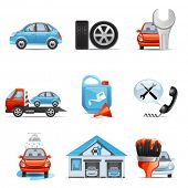 pic of lubricant  - Car service icons - JPG