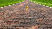 picture of auburn  - Auburn Brick Road - JPG