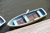 image of pubic  - Boat on the water at pubic park - JPG