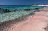 foto of fairyland  - Beaches in Elafonisi Crete island - JPG