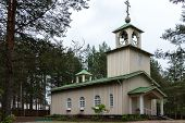 Russian Church Of Rovaniemi, Lapland.