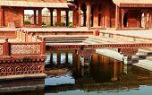 picture of mughal  - Fatehpur Sikri - JPG