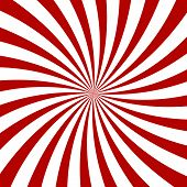 stock photo of sensory perception  - Red Hypnosis Spiral Pattern - JPG