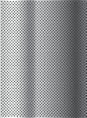 stock photo of metal grate  - Concept conceptual gray abstract metal stainless steel aluminum perforated pattern texture mesh background as metaphor to industrial - JPG