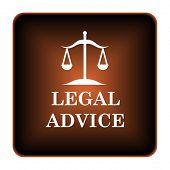 picture of judiciary  - Legal advice icon - JPG