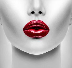 image of big lips  - Sexy Lips - JPG