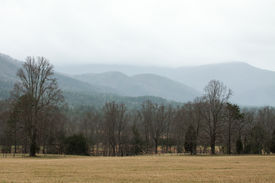 picture of cade  - Fields in a mountain valley - JPG