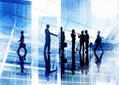 foto of handshake  - Handshake Business People Team Teamwork Meeting Conference Concept - JPG