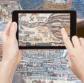 stock photo of cartographer  - travel concept  - JPG
