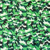 pic of camoflage  - texture of fabric striped military camouflage for background - JPG