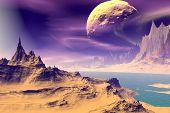 picture of alien  - Alien Planet  - JPG